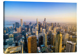 Canvas print  Skyline of Chicago, Illinois - Fraser Hall