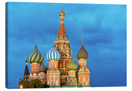 Canvas print  Brilliant St. Basil's Cathedral in Moscow - Miles Ertman