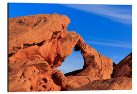 Aluminium print  Natural Arch, Valley of Fire State Park - Richard Cummins