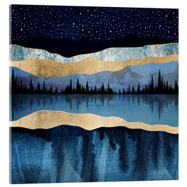 Acrylic print  Midnight Lake - SpaceFrog Designs