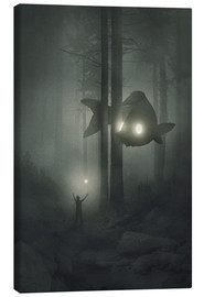 Canvas print  Deep forest - Dawid Planeta