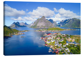 Canvas print  Norway dream view - Dave Derbis