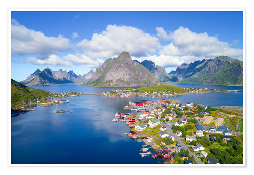 Premium poster Norway dream view