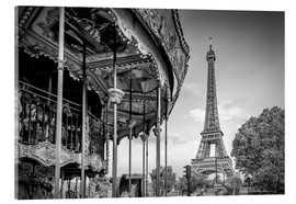 Acrylic print  Typical Paris - Melanie Viola
