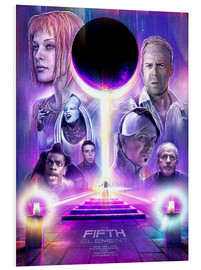 Foam board print  The Fifth Element - Barrett Biggers