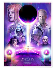 Premium poster  The Fifth Element - Barrett Biggers