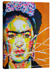 Canvas print  Frida - Marie-Armelle Borel