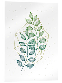 Acrylic print  Geometry and nature III - Barlena