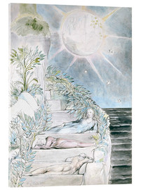 Acrylic print  Dante and Statius sleep - William Blake