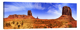 Canvas print  Monument Valley - fotoping