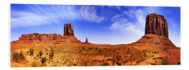 Foam board print  Monument Valley - fotoping