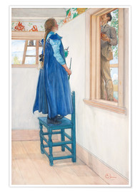 Premium poster  Suzanne and another - Carl Larsson