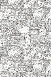 Colouring poster  Bedtime - Kidz Collection