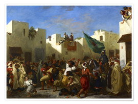 Premium poster The Fanatics of Tangier