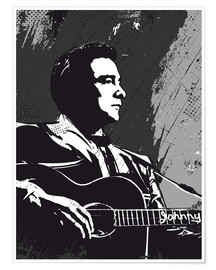 Premium poster  Johnny Cash - 2ToastDesign