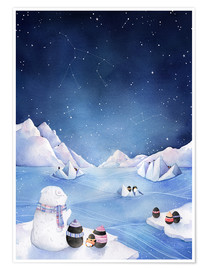 Premium poster  Stars of the Antarctic - Rebecca Richards
