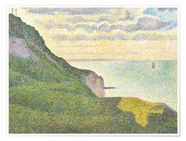 Premium poster Seascape at Port-en-Bessin
