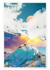 Premium poster Dreaming Mountains