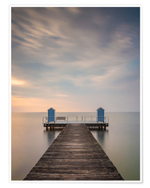 Premium poster Jetty on the Baltic Sea (1)