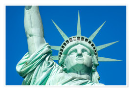 Premium poster  Statue of Liberty in New York City, USA - Jan Christopher Becke