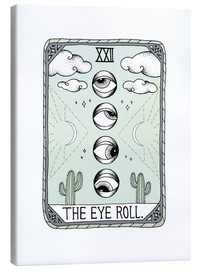 Canvas print  The Eye Roll, Tarot card - Barlena