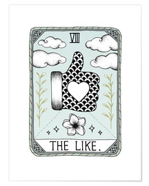 Premium poster  The Like , Tarot card - Barlena