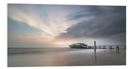 Foam board print  54Brad beach bar in St.Peter-Ording - Heiko Mundel