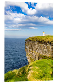 Acrylic print  Duncansby Head Lighthouse at John o Groats - Reemt Peters-Hein
