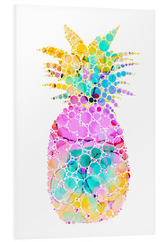 Foam board print  Ananas - Miss Coopers Lounge