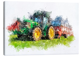 Canvas   tractor  - Peter Roder