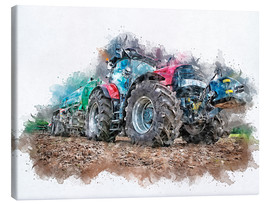 Canvas print  tractor - Peter Roder