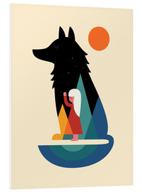 Foam board print  Best Friend - Andy Westface