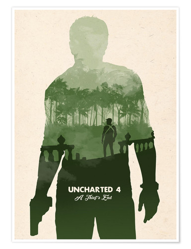 Uncharted 4 Posters And Prints Posterlounge Com