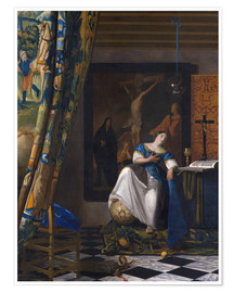Premium poster The Allegory of the Faith