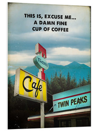 Foam board print  Twin Peaks - 2ToastDesign
