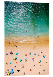 Acrylic glass  Summer holidays in Portugal - Radu Bercan