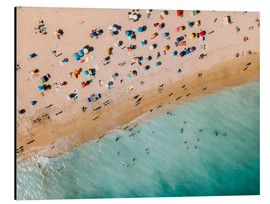 Aluminium print  Vacationers on the beach in Lagos, Portugal - Radu Bercan