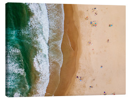 Canvas print  At the beach of the Algarve - Radu Bercan