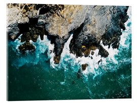 Acrylic print  The sea on the Algarve coast - Radu Bercan