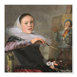 Premium poster Judith Leyster