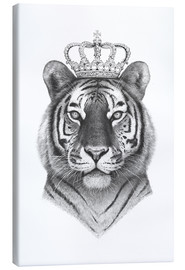 Canvas print  Tiger King - Valeriya Korenkova