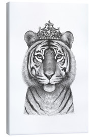 Canvas  The Tigress Queen - Valeriya Korenkova