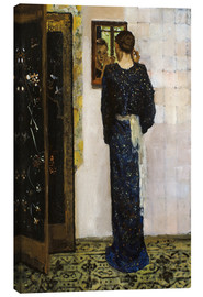 Canvas print  The Earring - Georg-Hendrik Breitner