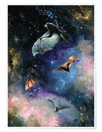 Premium poster  Scream of a Great Bat - Tanya Shatseva