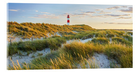 Acrylic glass  Lighthouse in Sylt - Rainer Mirau