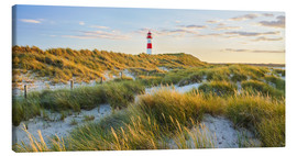Canvas print  Lighthouse in Sylt - Rainer Mirau