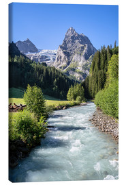 Canvas print  Bernese Oberland Switzerland - Achim Thomae