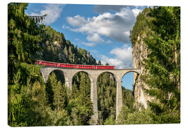 Canvas print  Landwasser Viaduct Glacier Express - Achim Thomae