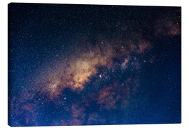 Canvas  The core of the Milky Way - Fabio Lamanna
