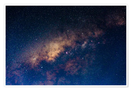 Premium poster The core of the Milky Way